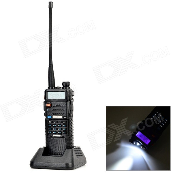 Buy BaoFeng Lengthened 128-CH Walkie Talkie w/ 3800mAh Li-ion Battery with Litecoins with Free Shipping on Gipsybee.com