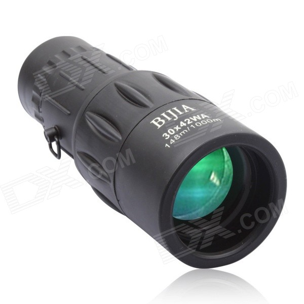 BIJIA 30x42 8X odolný vůči vodě HD Scope Monocular Telescope - Black