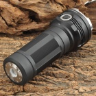 Sunwayman T60CS 2100lm 6-Mode White 3-LED Flashlight - Black (3 x 18650)