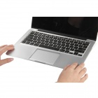 "OUSHINE muñeca protector Rest + Trackpad Pegatina para Macbook 13.3 ""Pro - Silver"