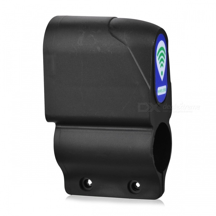 ... Electric Bike Bicycle Anti-theft Security Alarm w/ RC - Black ...