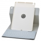 Separable Design 360 Degree Rotation Bluetooth V3.0 65-Key Keyboard w/ Case for IPAD AIR - Silver