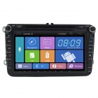 "8"" 2 Din Android 4.1 Capacitive Screen Car DVD Player w/ BT ,WiFi,OBD2,GPS,Radio,SWC for VW SKODA"