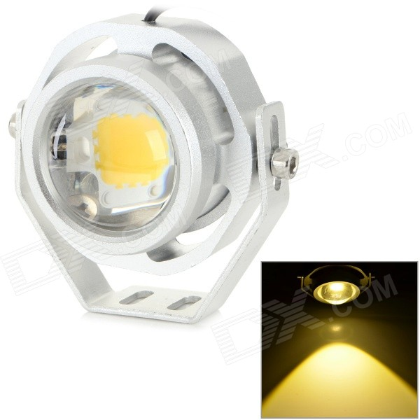 JRLED JRLED-10W-12V IP65 10W 700LM 3200K Warm White Light LED Spotlight - Silver (AC / DC 12V) for sale in Bitcoin, Litecoin, Ethereum, Bitcoin Cash with the best price and Free Shipping on Gipsybee.com