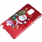 Christmas Santa Claus Pattern Protective PC Back Cover Case for Samsung Galaxy Note 4