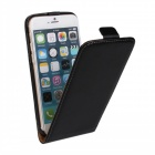 business stil beskyttende top flip-open tilfellet for iPhone 6 - svart