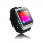 "ZGPAX S28 1.54"" Touchscreen GSM Watch Phone w/ 32MB RAM - Black+Silver"