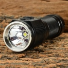JETBeam SSA10 200lm 4-Mode Cool White Outdoor Sports LED Flashlight - Black (1 x AA)