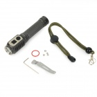 JETBeam DDC20 500lm 4-Mode Cool White LED Flashlight - Black (1 x 18650)