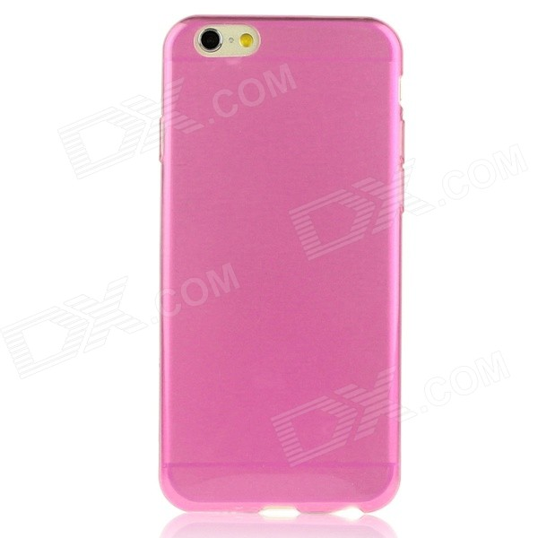 """Hat-Prince 0.3 mm Ultra-thin Protective TPU Back Case for IPHONE 6 PLUS 5.5"""" - Translucent Pink"""