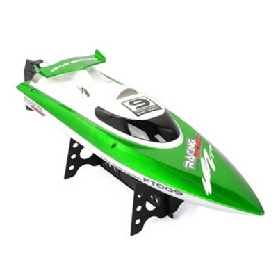 Feilun FT009 4-CH 2.4GHz High Speed Racing Remote Control R/C Yacht Boat Toy - Green