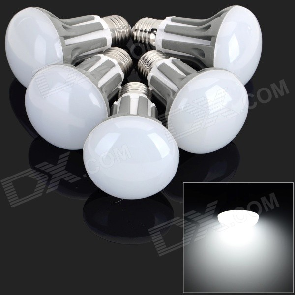 E27 5W 420LM 30-2835 SMD LED Cold White Light Lamps (220~240V / 5 PCS)