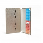 Fashion Protective PU Leather Smart Case w/ Stand for IPAD MINI - Champagne