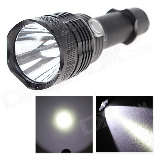 Convoy L4 1000lm 4-Mode White LED Flashlight w/ Cree XM-L2 U2-1A