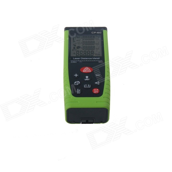 CATCAM CP-60 Hand-held Laser Distance Measuring Meter - Black + Green