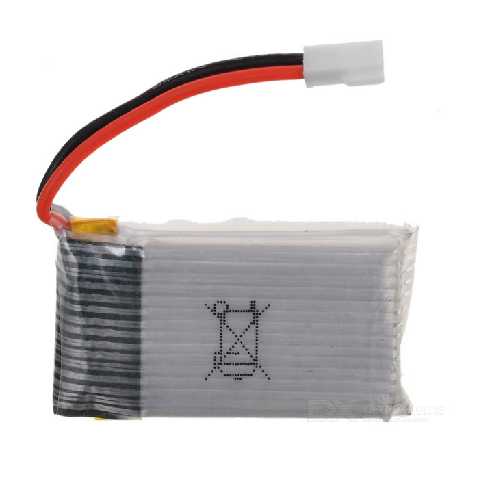 Syma X5C Replacement DIY 3.7V 650mAh Li-po Battery for X5 - Silver