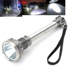 Pange K6 LED 950lm 5-Mode White Outdoor Flashlight - Silver (2 x 18650)
