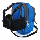 Hasky CY-05 Outdoor Sports Climbing Nylon Messenger Arm Shoulder Bag w/ Velcro Armband - Blue