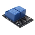 5V 10A 2-CH Relay Module w/ Optical Coupling Board for Arduino - Black