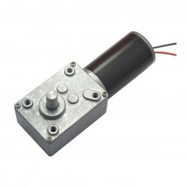 Gm58gw-DC-240V-77RPM-Precision-Worm-Gear-Motor-for-Strong-Self-locking-Force-Robot