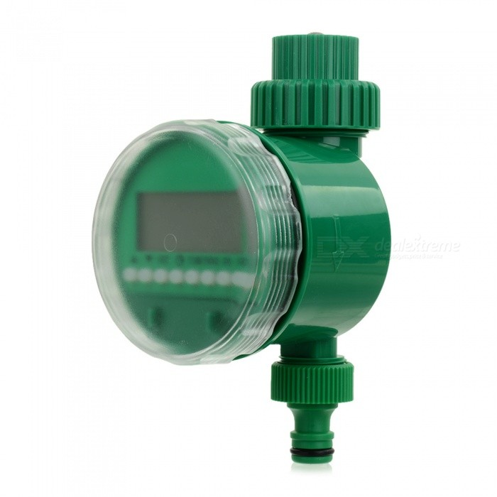 Buy NEJE ZJ0025-1 Electronic LCD Garden Water Timer Irrigation System - Green with Litecoins with Free Shipping on Gipsybee.com