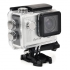 "Waterproof 1.5"" TFT Screen 1080P HD CMOS 12.0MP Sports Camcorder - Silver + Translucent Black"