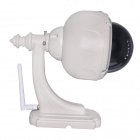 "WANSCAM HW0028 High Definition 1/4"" CMOS 1.0 MP IP Camera w/ 22-IR LED - Grey (EU Plug)"
