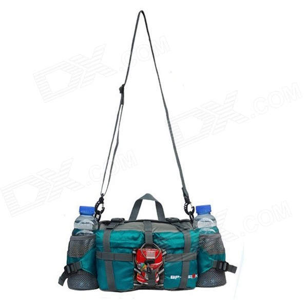 Buy F863 Multi-functional Water-resistant Single Shoulder Dacron Leisure Bag - Blue with Litecoins with Free Shipping on Gipsybee.com