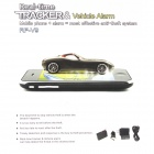 Car Security GPRS / GSM Positioning Real-time Tracker / Alarm - Black