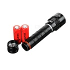 UltraFire WG-007 LED Dimming Cold White Diving Flashlight (2*26650)