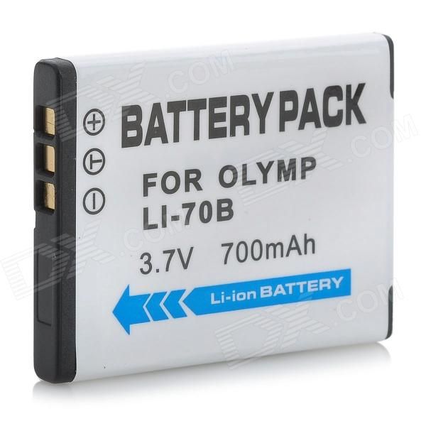 Olympus LI-70B Compatible 3.7V 700mAh Battery Pack for Olympus FE-4020