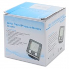WHO CK-W113 Digital Wrist Blood Pressure Meter Electronic Manometer - White + Black + Multi-Color