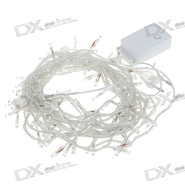 5W 100-LED RGB String Lights (220V/10M-Length)