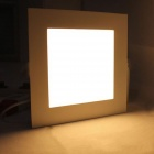 KINFIRE Surface Mounted LED 12W 980lm Warm White Frosted Square Ceiling Panel Light (AC85-265V)
