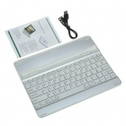 High Quality Smart 82-Key Ultra-thin Aluminum Alloy + ABS Wireless Bluetooth Keyboard for IPAD 2/3/4