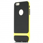 "ROCK RK-ip6P Royce Series Protective PC + TPU Back Case for IPHONE 6 Plus 5.5"" - Grass Green + Black"