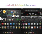 "LsqSTAR 7"" Capacitive Screen Android 4.2.2 Car DVD Player w/ GPS / WiFi / 1GB RAM / 8GB Flash for VW"