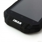 "iMAN i3 Android 4.2 Quad Core WCDMA Phone w/ 4.3"", 1GB RAM, 16GB ROM, GPS, WiFi - Black"
