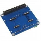 Cascading and Overlapping Multi-Function Sensor Expansion Board for Raspberry Pi B+