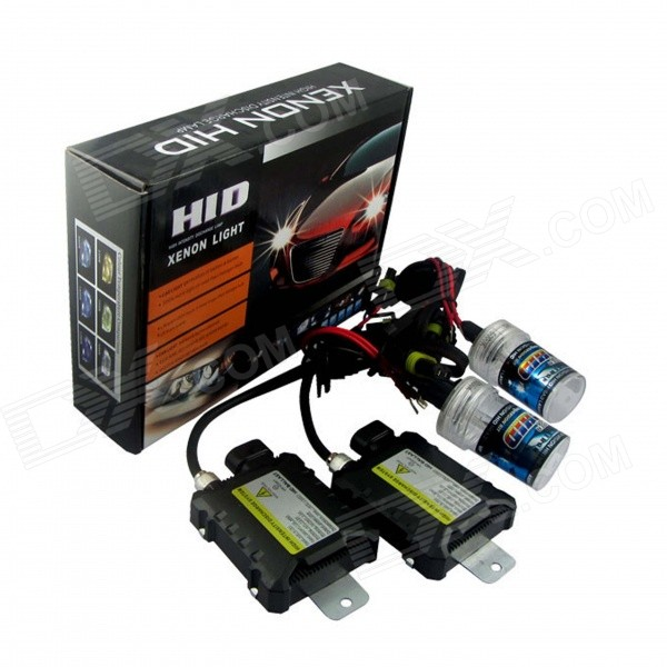 H3 PRO 55W 3200lm 7500K Car HID Xenon Lamps w/ Ballasts Kit (Pair)Headlights<br>Color Temperature7500KBrandRichinoModelH3PROQuantity1 DX.PCM.Model.AttributeModel.UnitMaterialPVCForm  ColorWhiteTypeHID Kit SetCompatible Car ModelJapanese, Chinese, South Korean, European and American Mid-range carsTypeDCInput Voltage9~16 DX.PCM.Model.AttributeModel.UnitRate Voltage13.2VOutput Power55 DX.PCM.Model.AttributeModel.UnitTheoretical Lumens3200 DX.PCM.Model.AttributeModel.UnitActual Lumens3158 DX.PCM.Model.AttributeModel.UnitLife Span3000 DX.PCM.Model.AttributeModel.UnitSocket TypeH3Working Temperature-40~+105 DX.PCM.Model.AttributeModel.UnitTypeDCInput Voltage9~16 DX.PCM.Model.AttributeModel.UnitRated Working Voltage13.2 DX.PCM.Model.AttributeModel.UnitRated Working Current4.2 DX.PCM.Model.AttributeModel.UnitOutput Power55 DX.PCM.Model.AttributeModel.UnitBiggest StartingCurrent6 DX.PCM.Model.AttributeModel.UnitOperating Temperature-40 ~ +105 DX.PCM.Model.AttributeModel.UnitCertificationE4 &amp; ISO-9001:2000 ApprovedPacking List2 x Xenon Bulbs(cable 44cm)2 x Ballasts1 x Set of installation accessories (cable 144cm)<br>