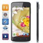 "P8 5.0"" Screen Android 4.2.2 Dual-Core WCDMA / GSM 3G Smart Phone w/ Dual-SIM, Wi-Fi - Black"