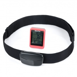 BIKEVEE-BKV-9100H-Multi-Functional-17quot-Screen-Wireless-Bike-Computer-w-Heart-Rate-Function