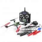 WLtoys V636 2.4GHz 4-CH UFO R/C Helicopter w/ Gyro / Lamp - Black + Silver + Multi-Color (6 x AA)