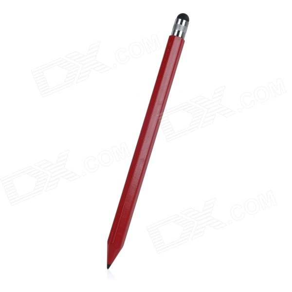 Carbon Capacitive Screen Stylus Touch Pen w/ Pencil