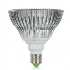 MFC-FC12 E27 12W 410lm 12-LED Red + Blue Light Plants Growth Lamp - White + Silver (AC 85~265V)