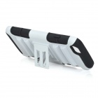 "Detachable Plastic + ABS Back Case w/ Stand for IPHONE 6 4.7"" - White + Black"