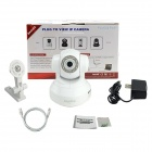 SANNCE IP7634JV 1.0MP Wireless P2P Wi-Fi IP Camera Supports APP Remote Monitoring - White (NTSC)