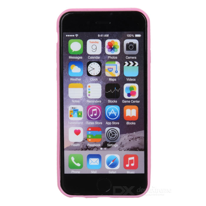 "Protective Matte TPU Back Case for IPHONE 6 4.7"" / 6S - Pink"