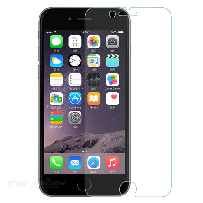 Clear PET Screen Protector w/ Cleaning Cloth for IPHONE6 - TransparentScreen Protectors<br>Screen TypeClearBrandNoModelNoQuantity1 DX.PCM.Model.AttributeModel.UnitMaterialPETForm  ColorTransparentCompatible ModelsIPHONE 6StyleScreen protectorScreen FeaturesScratch ProofCertificationNoOther FeaturesNoPacking List1 x Screen protector<br>