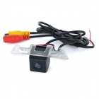 Wired HD CCD IP68 Waterproof 170' Car Rearview Camera for Honda SPIRIOR - Black + Transparent